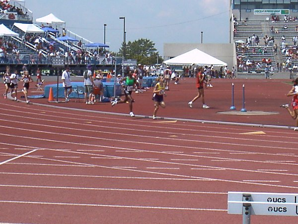 Allison Hartnett, Youth Girls 800 meter run, 2:26.94, 20th
