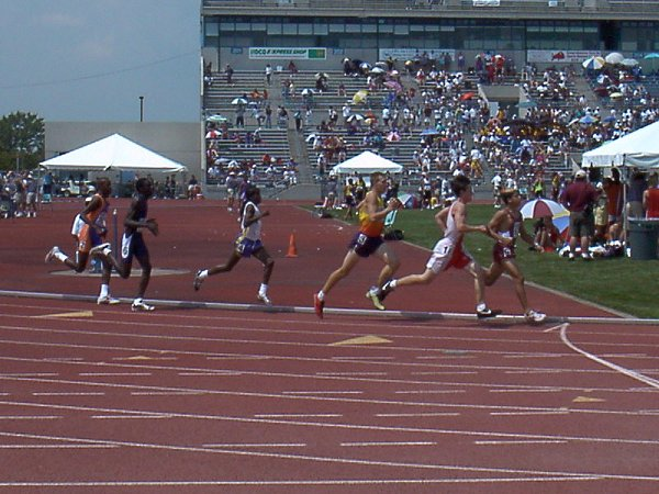 Ben DeLay, Youth Boys 800 meter run preliminaries