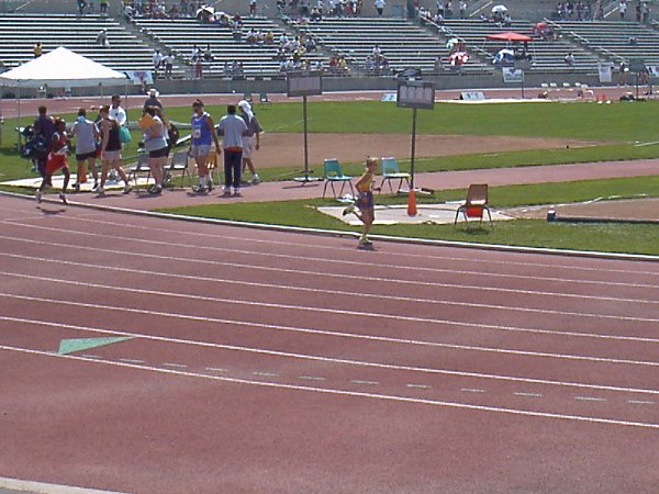 Briana Adams, Bantam Girls 800 meter run, 2:52.90, 26th