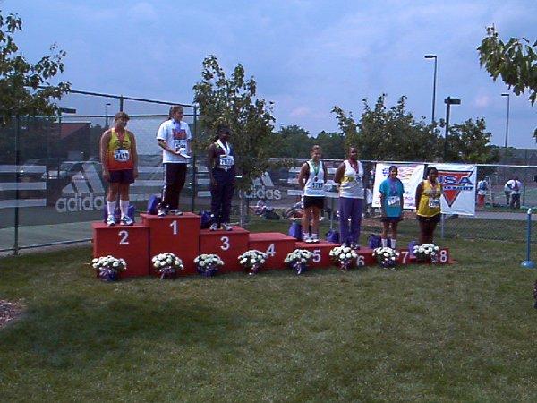 Jenny Svoboda, Midget Girls discus throw, 89' 11