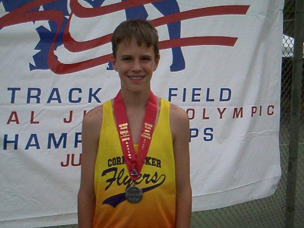 Kyle Murphy, Youth Boys pole vault, 10' 6