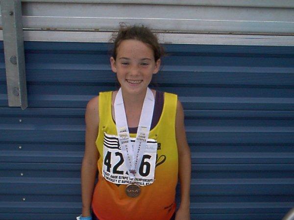 Merideth Snow, Youth Girls 3000 meter run, 10:48.05, 3rd