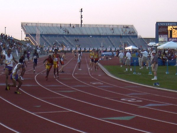 Ryan Doke, Youth Boys 4x400 meter relay, 3:42.53, 11th
