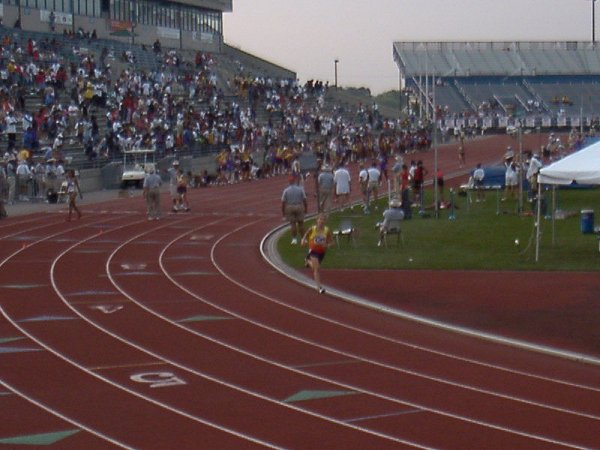 Allison Hartnett, Youth Girls 4x800 meter relay, 10:11.70, 9th