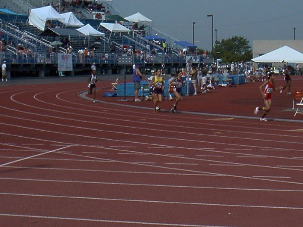 Kaitlin Hartnett, Youth Girls 1500 meter dash, 5:31.04, 32nd