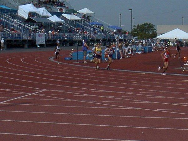 Kaitlin Hartnett, Youth Girls 1500 meter dash, 5:31.04, 32nd