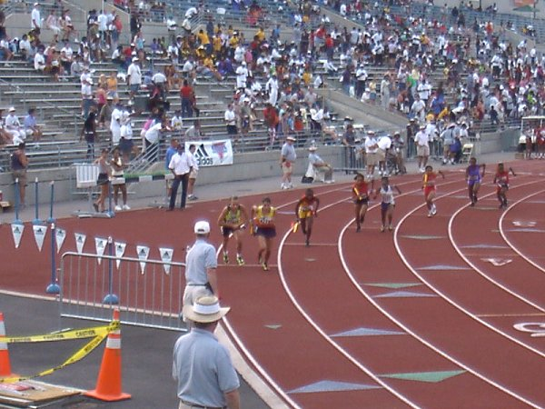 Kaitlin Hartnett, Youth Girls 4x800 meter relay, 10:11.70, 9th