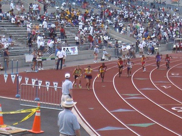 Kaitlin Hartnett, Youth Girls 4x800 meter relay, 10:11.70, 9th