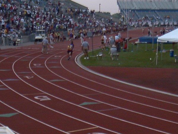 Merideth Snow, Youth Girls 4x800 meter relay, 10:11.70, 9th