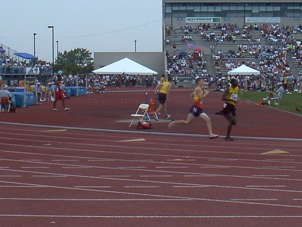 Peter Kisicki, Youth Boys 400 meter dash, 53.62, 14th