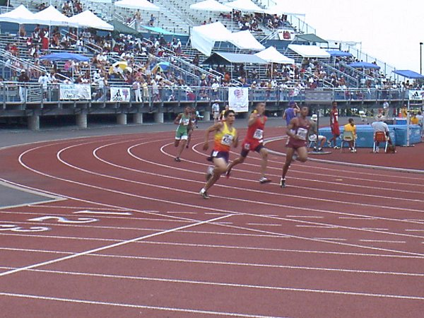 Ryan Doke, Youth Boys 400 meter dash, 54.86, 22nd