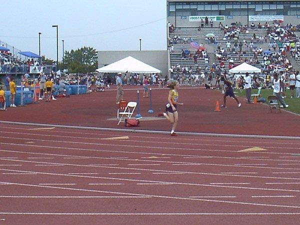 Samantha Kisicki, Midget Girls 400 meter dash, 1:07.23, 28th