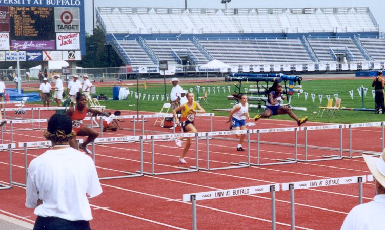 Annie Mullin, Midget Girls 80 meter hurdles, 14.22, 19th
