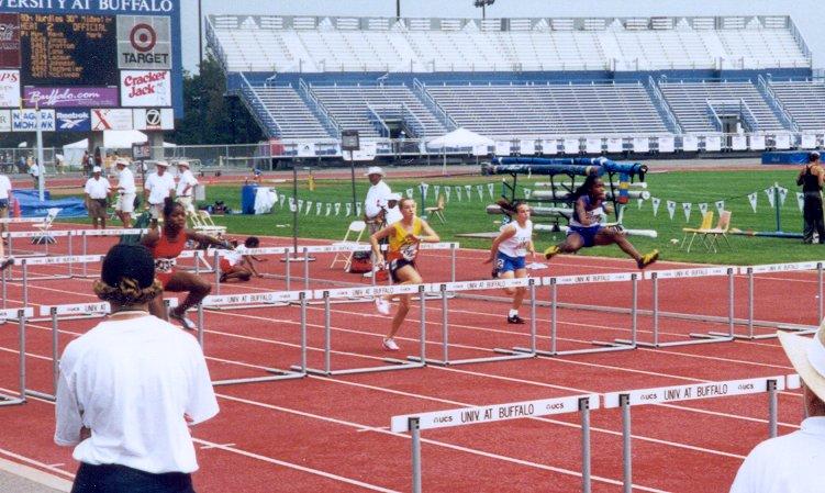 Annie Mullin, Midget Girls 80 meter hurdles, 14.22, 19th