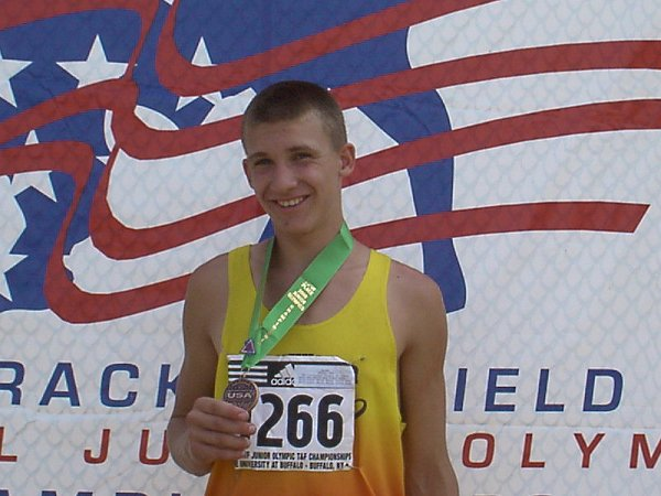Ben DeLay, Youth Boys 800 meter run, 2:04.34, 5th