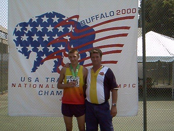 Ben DeLay, Youth Boys 800 meter run, 2:04.34, 5th