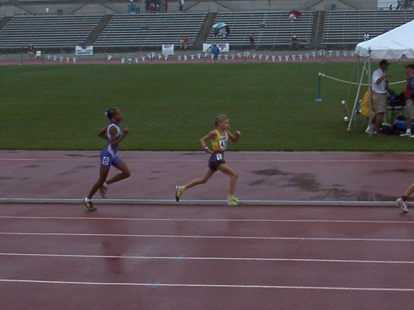 Briana Adams, Bantam Girls 1500 meter run, 5:43.43, 22nd
