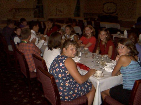 Dress-up dinner -- Kids