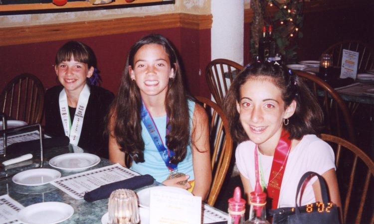Ashley Schnell, Merideth Snow, and Jenny Rubin