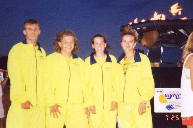 Torchlighters: Ben DeLay, Jenny Svoboda, Merideth Snow, Abby Emsick