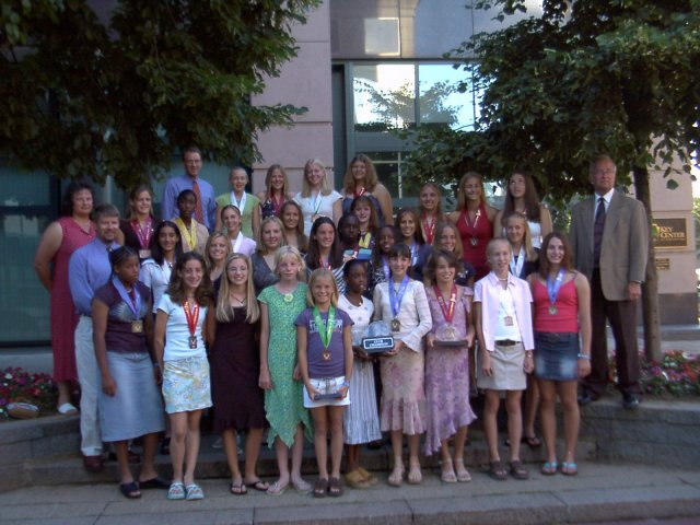 Flyer Girls, National Champions!