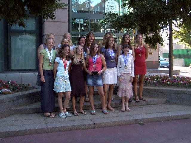Intermediate Girls, National Champions!