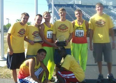 Flyers Young Men's team: National Runner-Ups