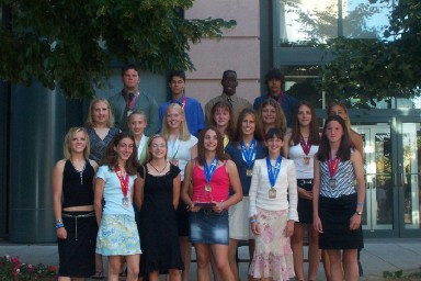 Flyer Intermediate Girls and Boys: National Champions!