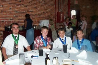 Kevin Crowell, Jacob Wilson, Ryan Reynolds, Tyler Nieland