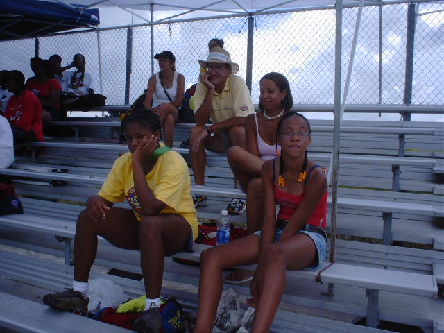 Who says watching track meets is boring?
