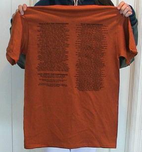 2004 T-Shirt back